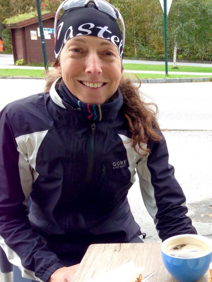 Bilder av sykkelpike fra Akershus